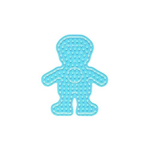 Hama - 8208 - Loisir Créatif - Maxi Plaque - Transparent Garçon