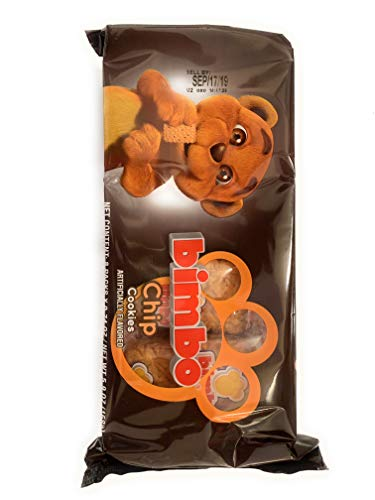 Bimbo Chip Creme Sandwich Cookies - 9.28 Ounces (8 individual packets per Pack)