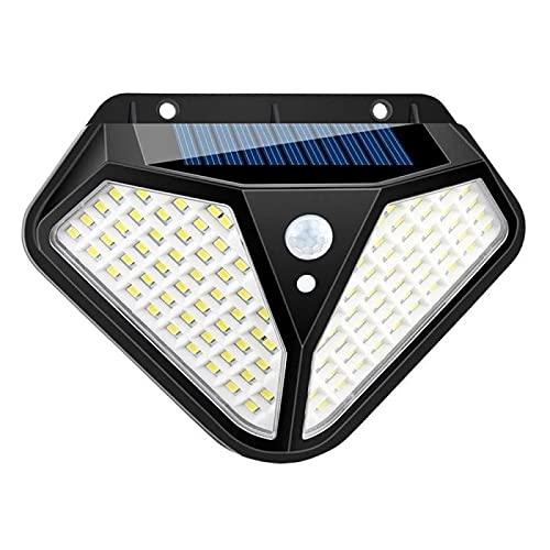 Kunyun 102 LED solar de la pared de la luz solar al aire libre PIR sensor de movimiento solar luz de calle con 3 modos de iluminación