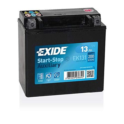 Exide EK131 EK Backup 131 Backup AGM 12V 12AH 200A, Schwarz