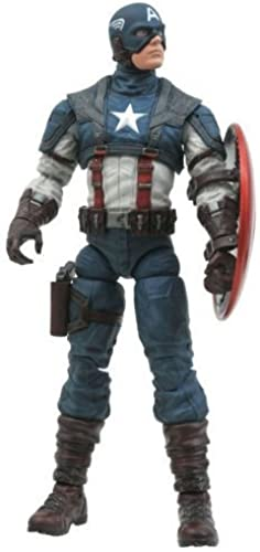 Diamond Select Toys Marvel Select  Captain America The First Avenger Movie Aktion steht by Diamond Select