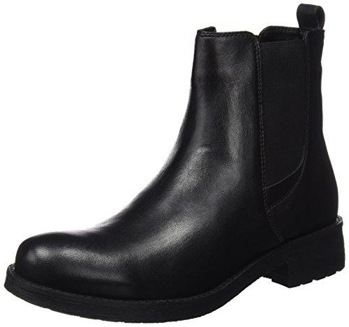 Geox Damen D New Virna F Chelsea Boots, Schwarz (Black), 40 EU