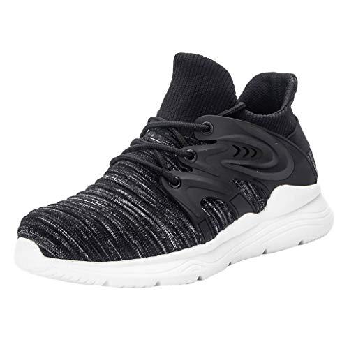 Brizz Heren Sneakers, mannen mode Fly Woven veiligheidsschoenen anti-smashing anti-piercing werkschoenen duurzame werkschoenen antislip veiligheidsschoenen wandelschoenen fitnessschoenen
