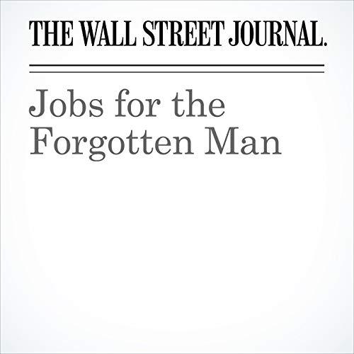 Jobs for the Forgotten Man audiobook cover art