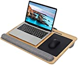 Lap Desk for Laptop with Cushion Bamboo...