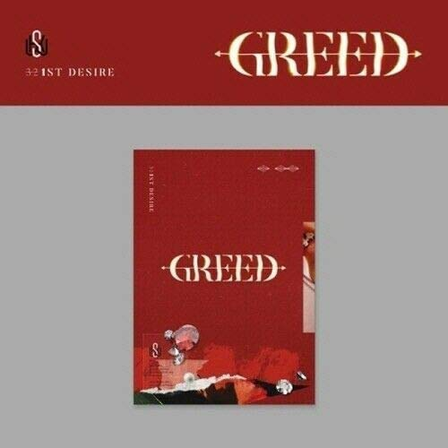 X1 KIM WOOSEOK GREED 1st Desire Album S VER CD+POSTER+Fotobuch+Folding Poster(On pack)+Film+Sticker SEALED+TRACKING CODE K-POP SEALED