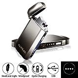 AUTSCA Mechero Eléctrico, Encendedor USB Doble Arco...