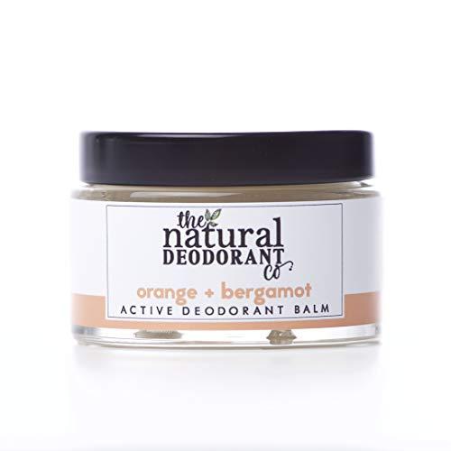 The Natural Deodrant Co Orange And Bergamot Active Deodorat Balm 55g