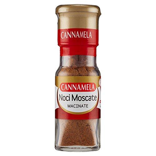 Cannamela Noci Moscate Macinate, Essiccate - 25 gr