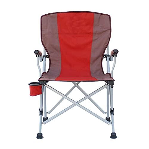 Silla para Acampar al Aire Libre, sillas de Pesca portátiles con portavasos, Asiento de Festival Plegable, Taburete de Tela para jardín, Barbacoa, Viajes