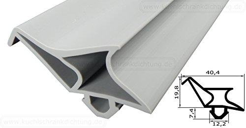 Profielafdichting - profiel 2173-2500 mm - kleur: grijs (afdichting koelkast)