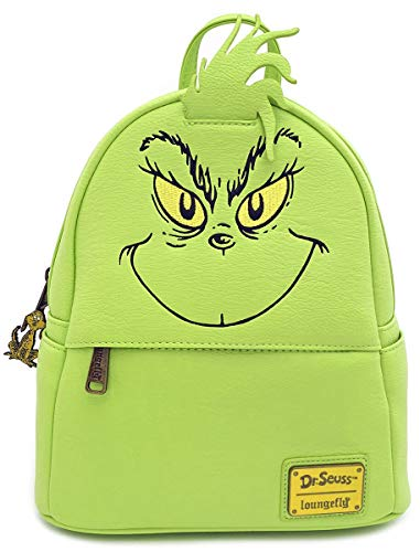 Loungefly x Dr. Seuss La Mini Mochila Cosplay de Grinch