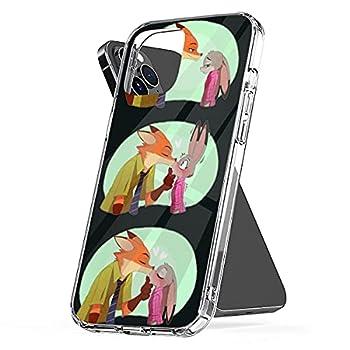 Phone Case Zootopia Charm Accessories P R O T E C T I V E Bumper Shockproof Compatible with iPhone 6 Plus 6s 7 8 Se 2020 X Xs Xr 11 12 Pro Max Mini