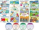 CTP Learn to Read Level 1-1 (絵本24冊+CD4枚+日本語解説書 専用ボックス、ステッカー付き)