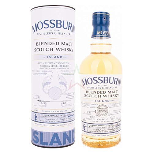 Mossburn ISLAND Blended Malt Scotch Whisky 46,00% 0,70 lt.