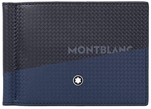 Montblanc MB Extreme 2.0 Wall6ccMClip wPrint Portafoglio, Uomini, BK/Bl (Multicolore), Taglia unica