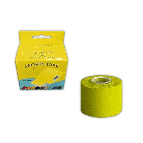 Cinta Sport Tape Sujeta-Espinilleras 10mx4cm Amarillo
