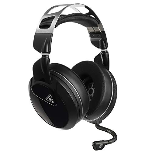 Turtle Beach Elite Atlas Cuffie da Gaming per Prestazioni da Professionisti per PC, PS4, 12Hz – 20kHz, Nintendo Switch e Xbox One, Nero