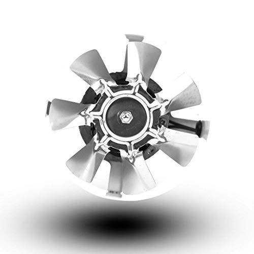 DYXYH Extintor, soplador de Ventilador portátil Ventilador de Alta Velocidad del Ventilador de bajo Ruido Mighty Mini Baño Potente