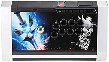 Qanba Obsidian Joystick Soulcalibur VI Edition - Playstation 4, Playstation 3 and PC (Fighting Stick) Officially Licensed Sony Product