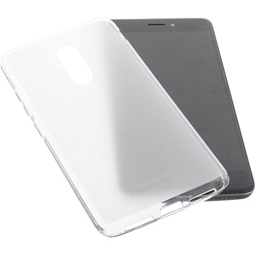 foto-kontor Tasche für TP-Link Neffos X1 Max Gummi TPU Schutz Handytasche transparent