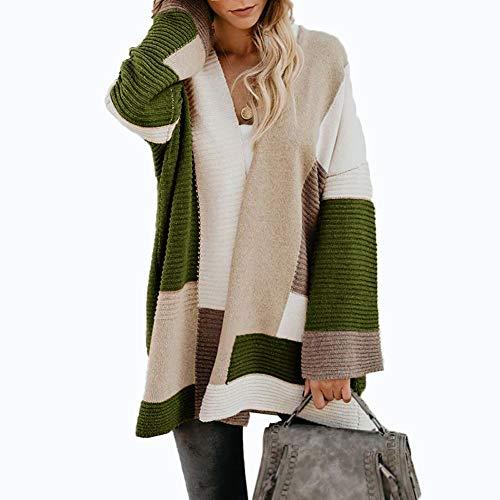 BIXUYAO Vrouwen Truien/Kleding Vest Oversized Winter Kleding Jassen Lange herfst Tops Geschikt voor Vrije tijd