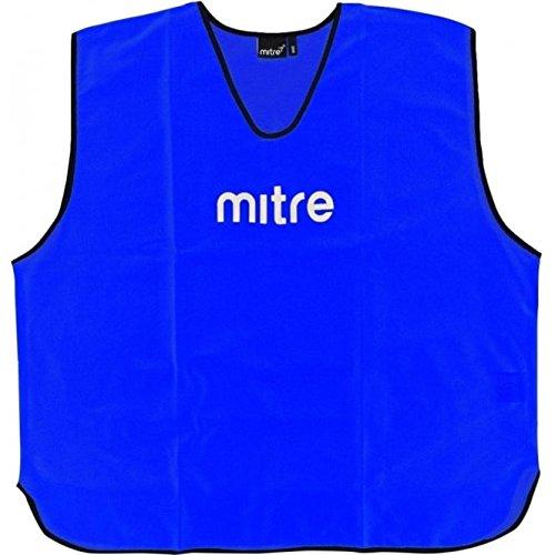 Mitre Soccer, 25 pettorine da calcio, Blu, senior