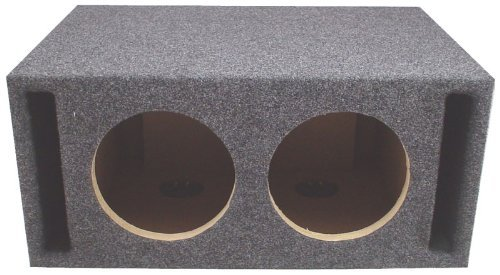 "Car Audio Dual 15"" SPL Bass Subwoofer Labyrinth Vent Sub Box Stereo Enclosure"