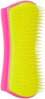 Pet Teezer, Detangling & Dog Grooming Brush, Pink and Yellow