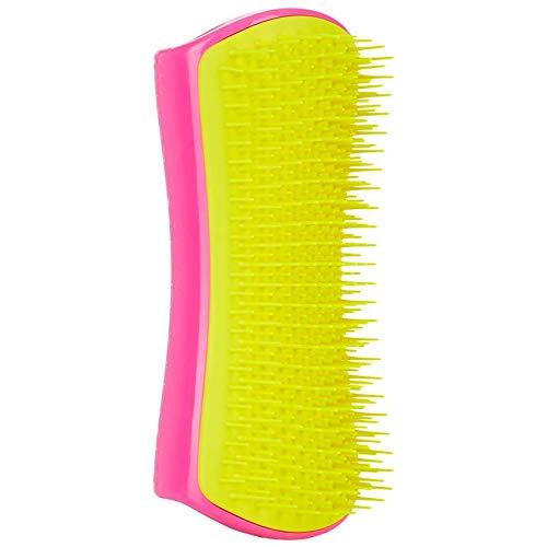 Pet Teezer, Detangling and Dog Grooming Brush, Pink and Yellow