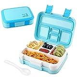 AUCHIKU Bento Lunchbox - Lunch Box pour Enfants, boîte bento à Compartiments Variables,Boîte Repas pour l'école,Boîte à déjeuner,Snack Box, Boîte Bento Enfants et Adultes,Lunch Box Healthy