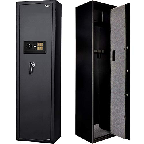 Moutec Large Safe, Quick Access Large Metal Storage Cabinet with Separate Lock Box