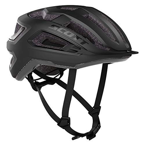SCOTT Arx 2020 - Casco de Ciclismo, Color Negro, S (55-56 cm)