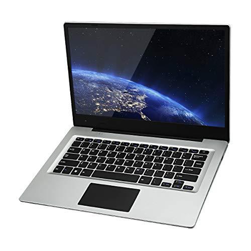 jumper Ezbook 3S Laptop 14.1 pollici 256GB SSD 6GB RAM, Display FHD 1920 * 1080, Ultrabook Windows 10 Home Intel Celeron N3450 Quad Core 1.1GHz, Espandibile con SD Scheda fino a 128GB, Notebook Argento