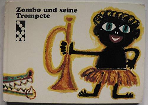 Zombo und seine Trompete. Bilder von Ernst Insam.