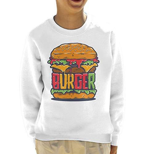 Cloud City 7 Burger Sauce tekst Kid's Sweatshirt