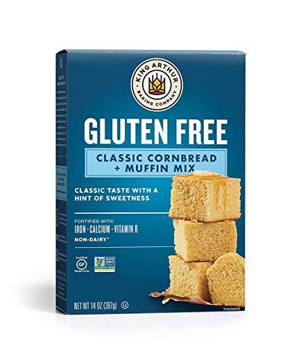 King Arthur Flour Gluten Free Cornbread + Muffin Mix, 14 oz (397 g) (Pack of 6)