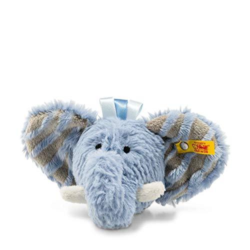 Steiff 240522 Soft Cuddly Friends Earz Elefant Rassel,, blau