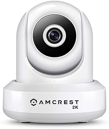 Amcrest UltraHD 2K WiFi Video Security IP Camera w/Pan/Tilt, Dual Band...