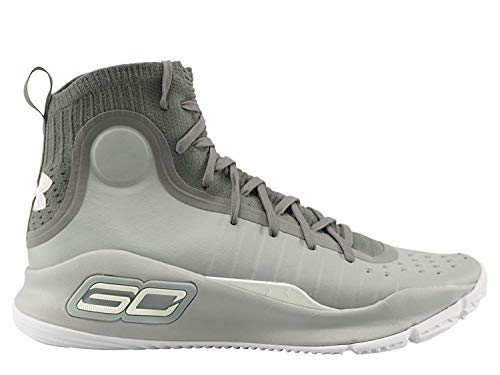 Under Armour Curry 4 Men's Basketball, Size 12, Color Grey