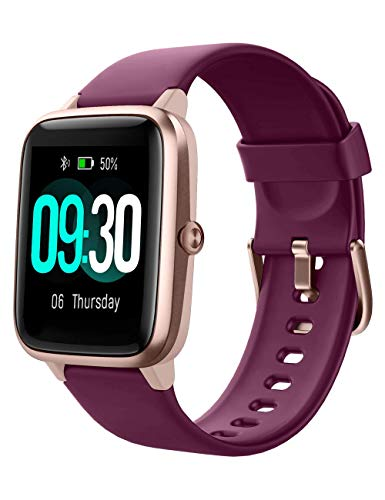 Willful Smartwatch Uomo Donna Orologio Fitness Smart Watch Contapassi Cardiofrequenzimetro da Polso Impermeabile IP68 Cronometro 9 modalità Sport Conta Calorie Sveglia GPS Condiviso per Android iOS