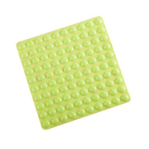 flyshop 200Stück Rund klein hellgrün selbstklebend Softclose Schrank Möbel Stoßstangen