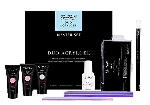 NeoNail Master Set Duo Acrylgel Top NeoNail Zubehör Geschenkbox Nagelstudio Set Nail Effektiv