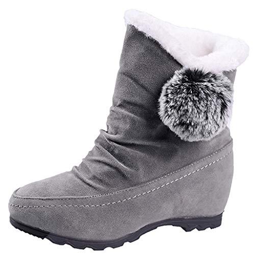 QUICKLYLY Botas De Nieve Mujer,Botines para Adulto,Zapatillas/Zapatos De...