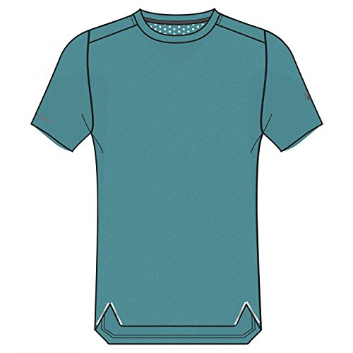 ASICS Herren fuzeX Seamless T-Shirt, Blau, L