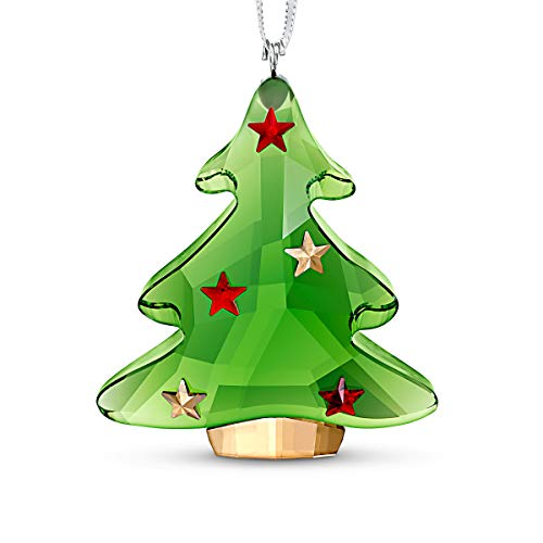 SWAROVSKI Green Tree Christmas Ornament, One Size (5544526)