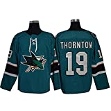 JesUsAvila R-inne.s #35 NHL Hockey Sobre Hielo Hombre Jersey Sudadera Transpirable T-Shirt de Manga Larga Ropa Sewing/C/M