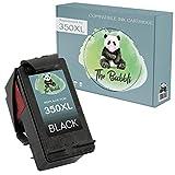 The Bubbli Original | 350XL Remanufacturado Cartucho de Tinta Compatible para HP Deskjet D4360 F4280 OfficeJet 5740 J5780 J6410 Photosmart D5360 C4599 C4280 C4380 C5280 C4580 C4480 C4270 (Negro)