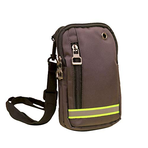 COOFIT Taille Tas Casual Multi-gebruik Mini Coin Purse Sport Riem Tas Taille Pack voor Outdoor
