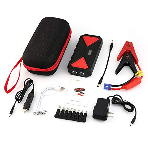 9900mAh Best Car Jump Starter High Power Portable Car Charger Multi-Function Start Jumper Emergency Car Battery Booster
